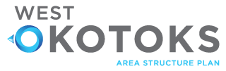 West Okotoks Area Structure Plan Retina Logo